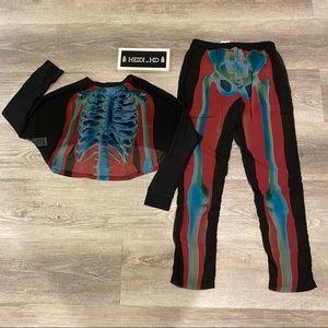 adidas Tops - Adidas X Rita Ora Xray Skeleton Set